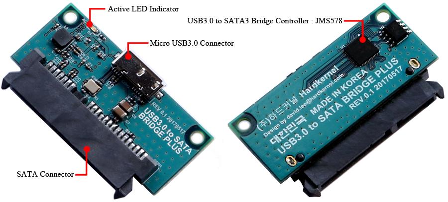 usb3 0 to sata bridge board plus odroid