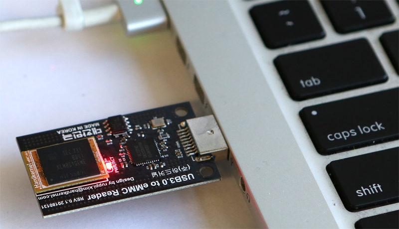USB3 0 eMMC Module Writer