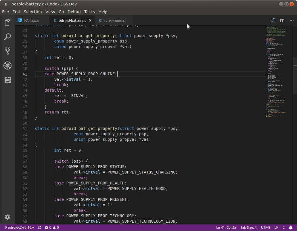 Blog Odroid Wiringpi Arch The Performance Of Source Code Editor Was Very Good And Look Feel Similar To Original Visual Studio Its Time Learn How Configure